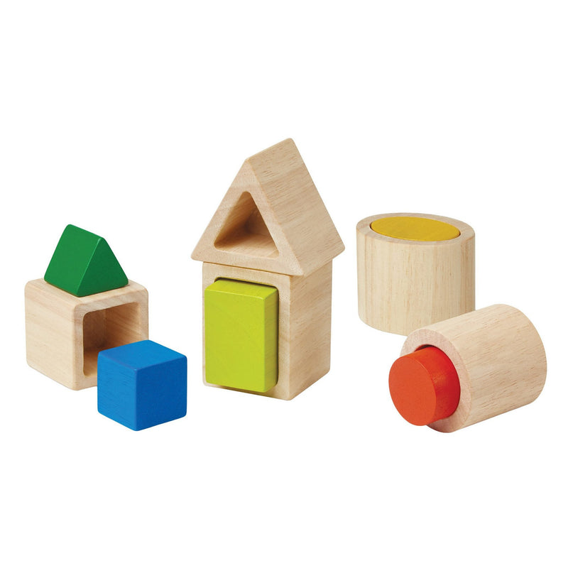 Early Learning - Plan Toys Geo Matching Blocks