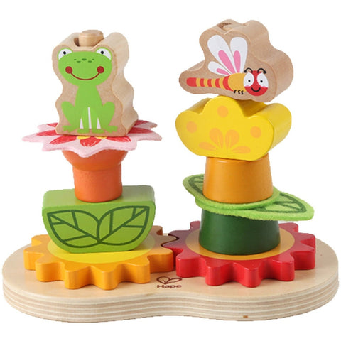 Hape Early Explorer Garden Gear Stacker - Early Learning - Anglo Dutch Pools and Toys