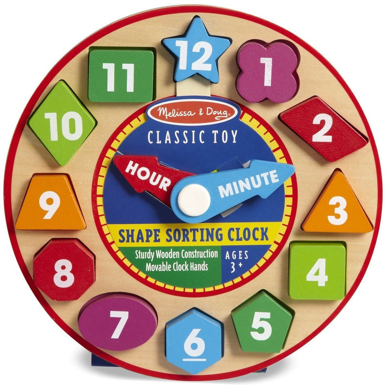 Melissa & Doug Shape Sorting Clock - Early Learning - Anglo Dutch Pools and Toys