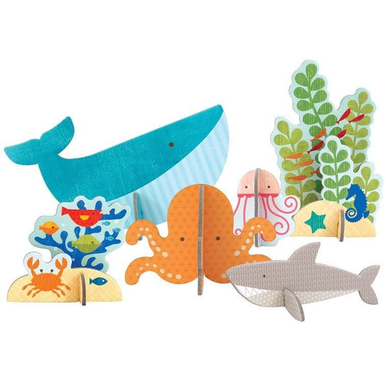 Petit Collage Ocean Pop-out and Play - Early Learning - Anglo Dutch Pools and Toys