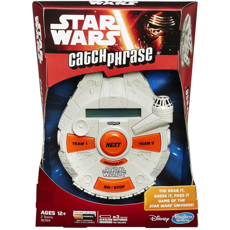 Catch Phrase: Star Wars Edition - Electronic and Handheld Games - Anglo Dutch Pools and Toys