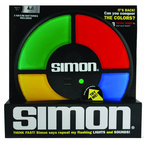 Simon - Electronic and Handheld Games - Anglo Dutch Pools and Toys