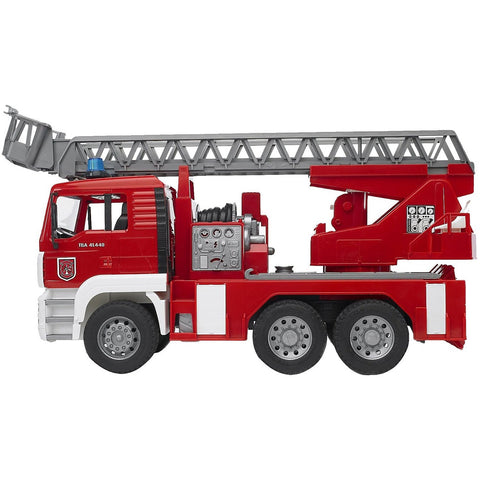 Bruder MAN Fire Engine With Water Pump, Light & Sound- - Anglo Dutch Pools & Toys  - 1