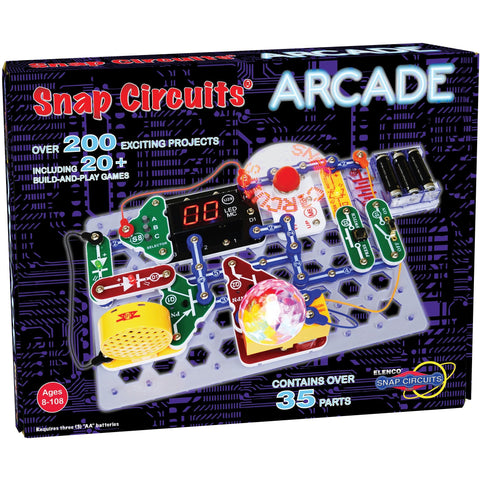 Snap Circuits Arcade - Engineering Toys - Anglo Dutch Pools and Toys