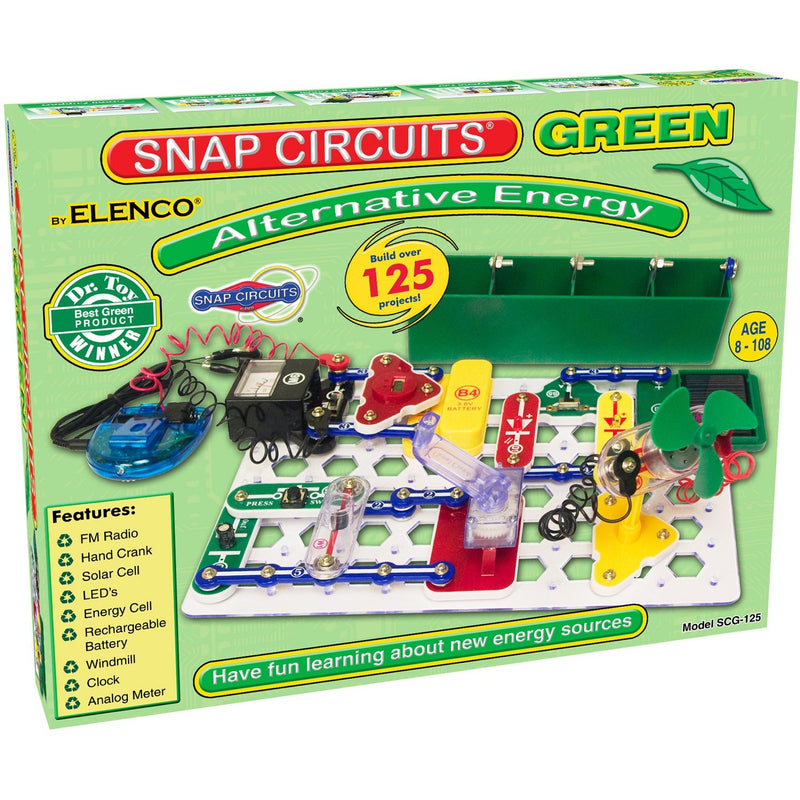 Snap Circuits Green - Engineering Toys - Anglo Dutch Pools and Toys