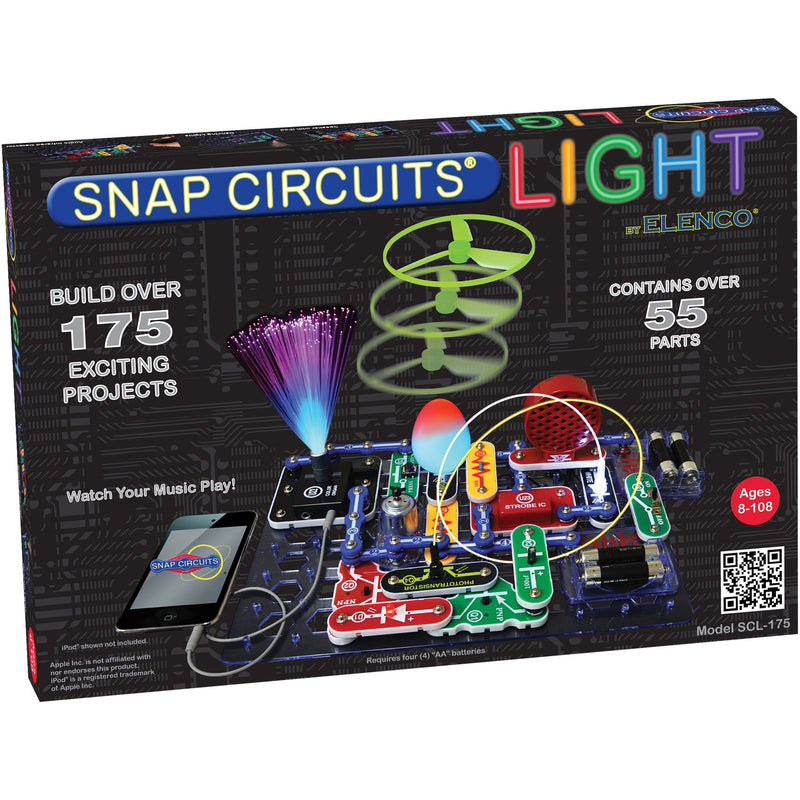 Snap Circuits Light - Engineering Toys - Anglo Dutch Pools and Toys