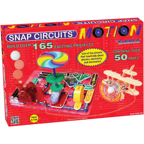 Snap Circuits Motion - Engineering Toys - Anglo Dutch Pools and Toys