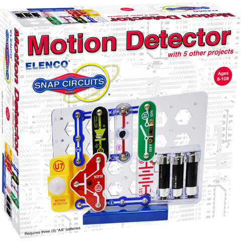 Snap Circuits Motion Detector - Engineering Toys - Anglo Dutch Pools and Toys