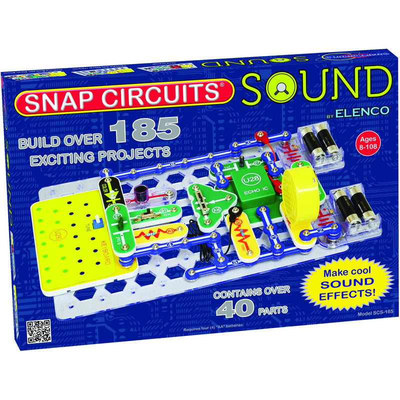 Snap Circuits Sound - Engineering Toys - Anglo Dutch Pools and Toys