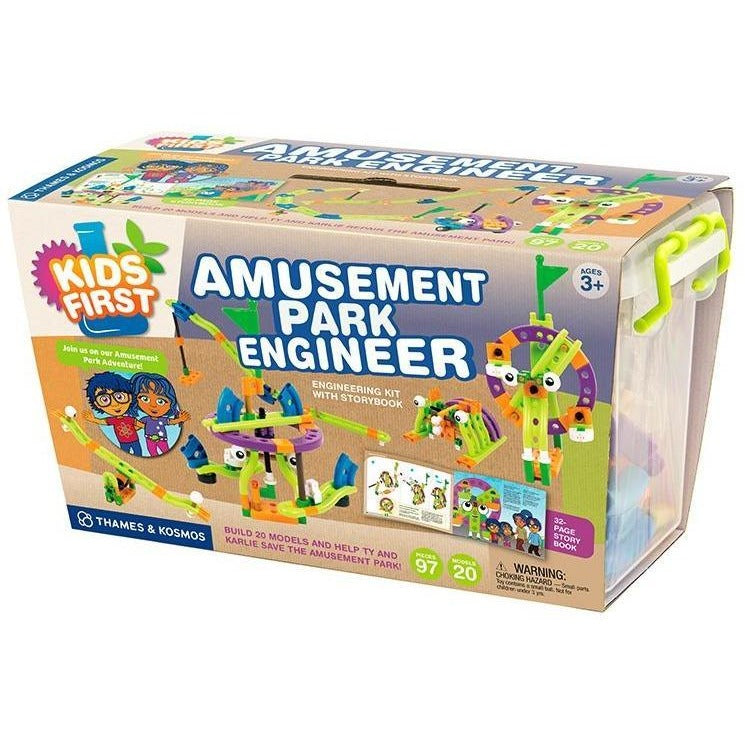 Thames & Kosmos Kids First Amusement Park Engineer Set