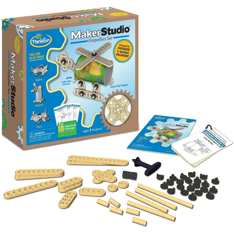 ThinkFun Maker Studio - Propellers Building Kit - Engineering Toys - Anglo Dutch Pools and Toys