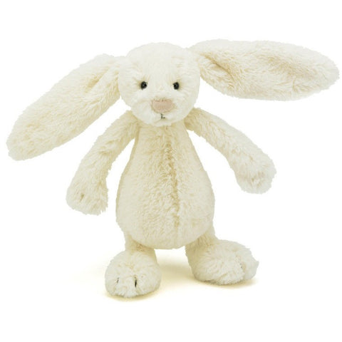 "Jellycat Bashful Cream Bunny- Small- 7""- Anglo Dutch Pools & Toys  - 3"