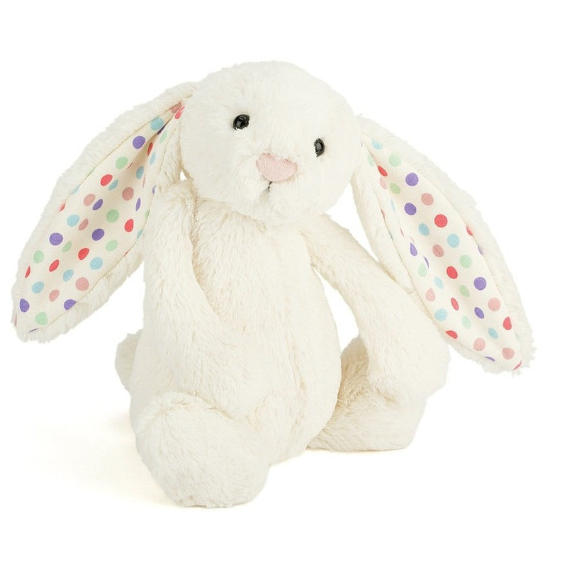Jellycat Bashful Dot Bunny - Farm and Forest Animals - Anglo Dutch Pools and Toys