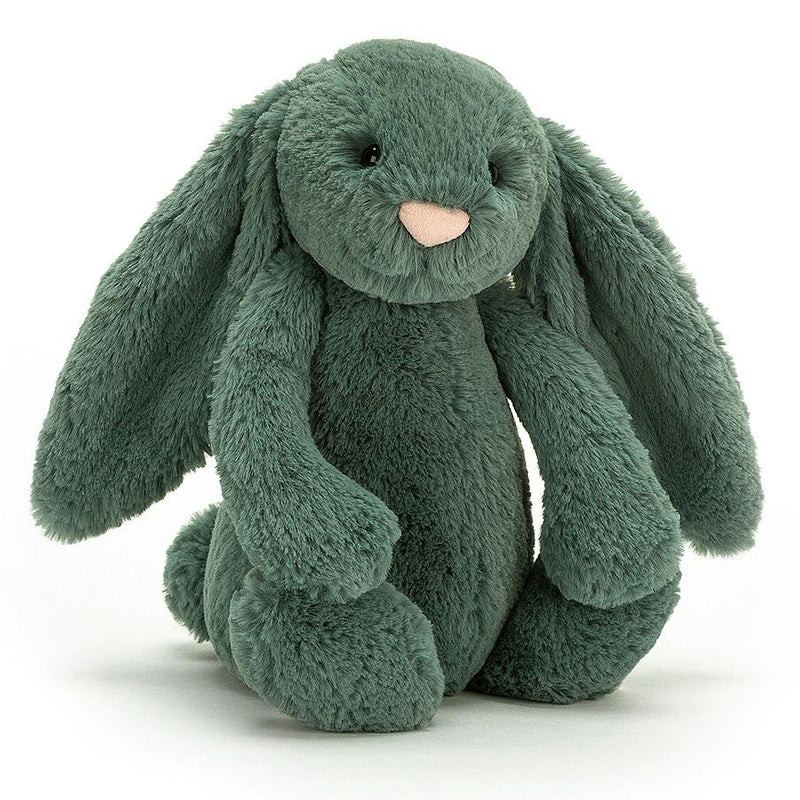 Farm And Forest Animals - Jellycat Bashful Forest Bunny Medium 12""