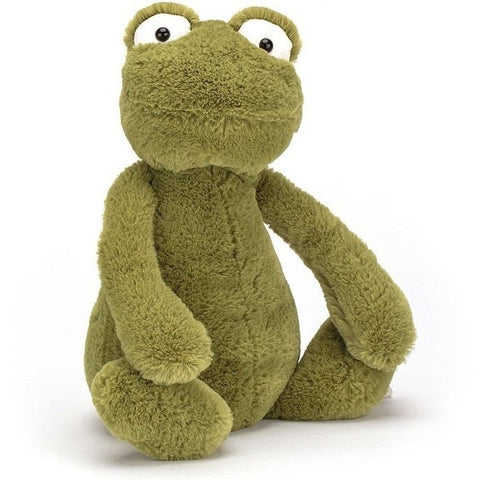 Farm And Forest Animals - Jellycat Bashful Frog Medium 12""