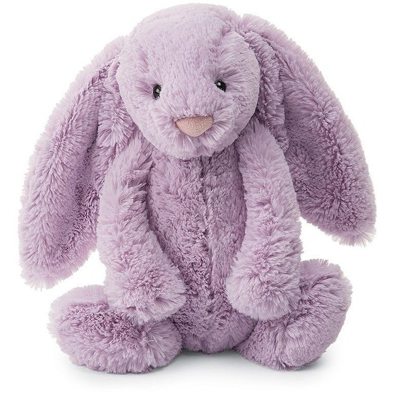 Farm And Forest Animals - Jellycat Bashful Lilac Bunny Medium 12""