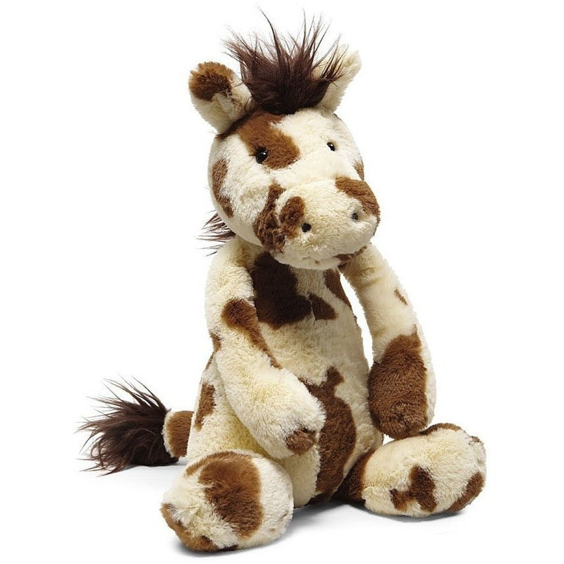 Farm And Forest Animals - Jellycat Bashful Pinto Pony Medium 12""