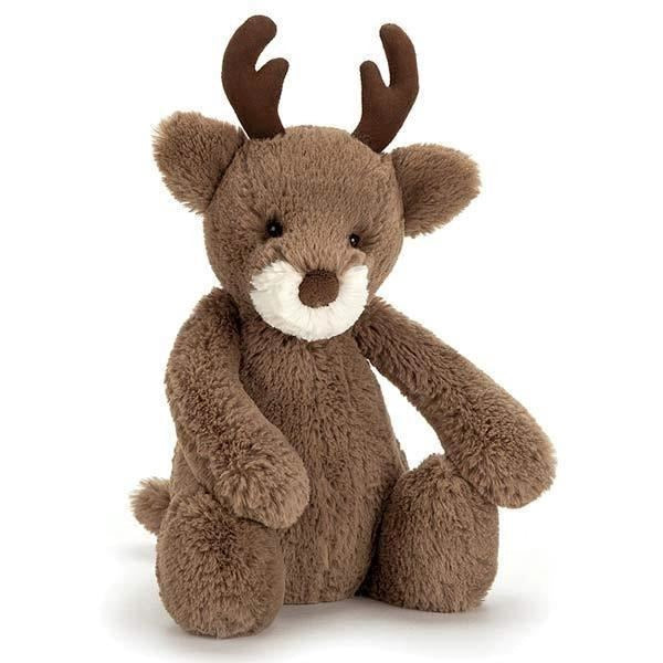 Jellycat Bashful Reindeer - Farm and Forest Animals - Anglo Dutch Pools and Toys