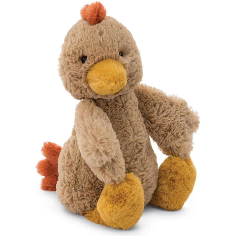 Farm And Forest Animals - Jellycat Bashful Rooster Medium 12""
