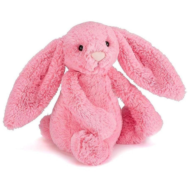 "Jellycat Bashful Sorbet Bunny Medium 12"" - Farm and Forest Animals - Anglo Dutch Pools and Toys"