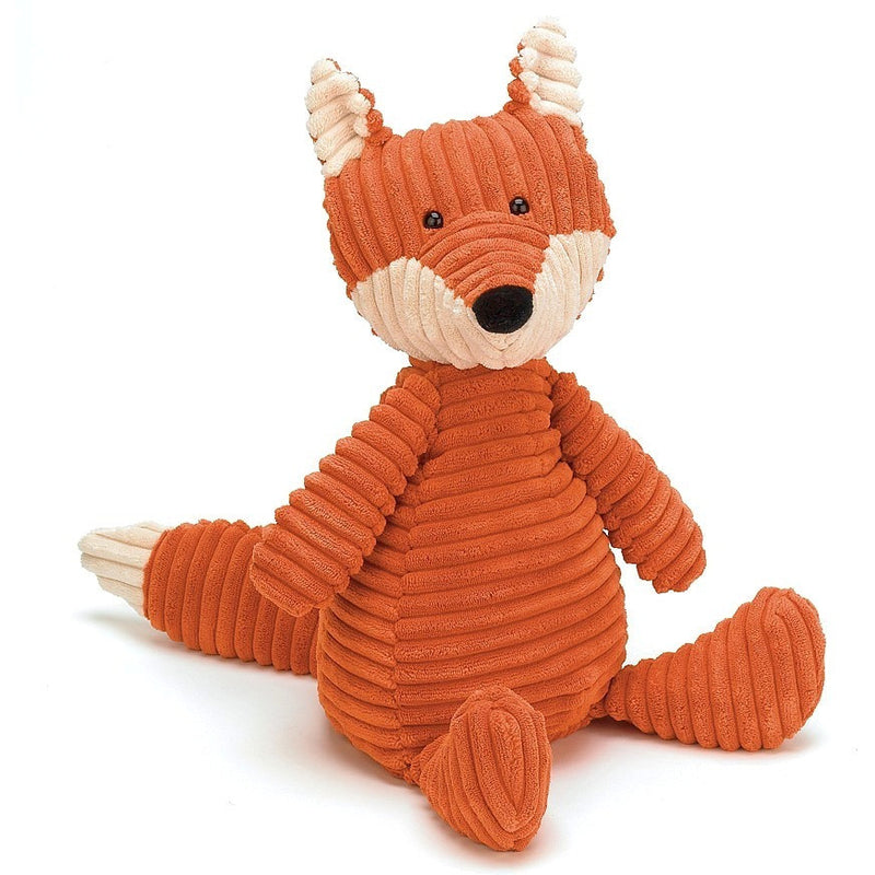 "Jellycat Cordy Roy Fox Medium 15"" - Farm and Forest Animals - Anglo Dutch Pools and Toys"
