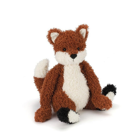 "Jellycat Into the Woods Finley Fox 10"" - Farm and Forest Animals - Anglo Dutch Pools and Toys"