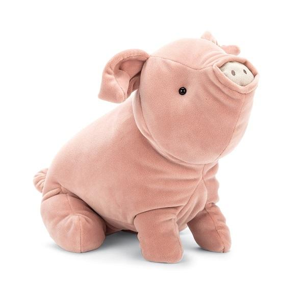 Farm And Forest Animals - Jellycat Mellow Mallow Pig 15""