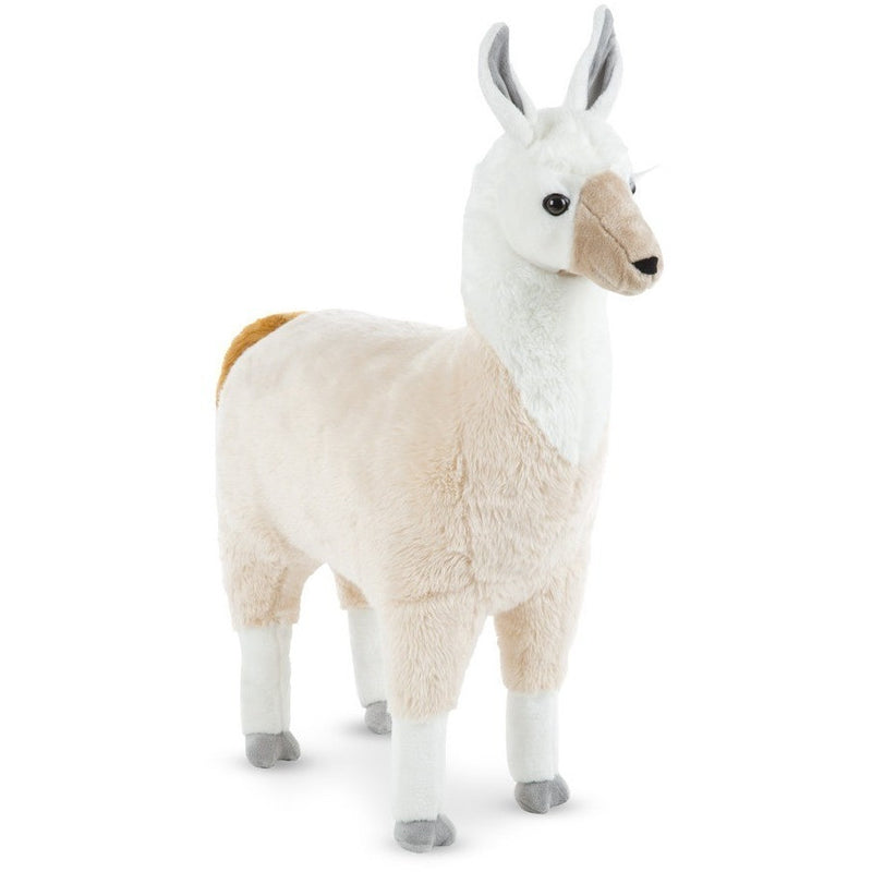 Farm And Forest Animals - Melissa & Doug Lifelike Plush Llama 31""