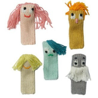 Blabla Expressions Finger Puppet Set- - Anglo Dutch Pools & Toys  - 1