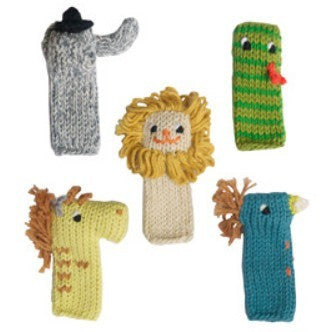Blabla Jungle Finger Puppet Set- - Anglo Dutch Pools & Toys  - 1