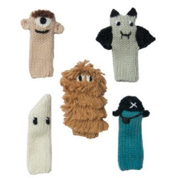 Blabla Spooky Finger Puppet Set- - Anglo Dutch Pools & Toys