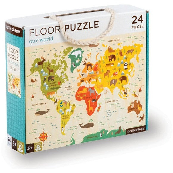 Petit Collage Our World Floor Puzzle - Floor Puzzles - Anglo Dutch Pools and Toys