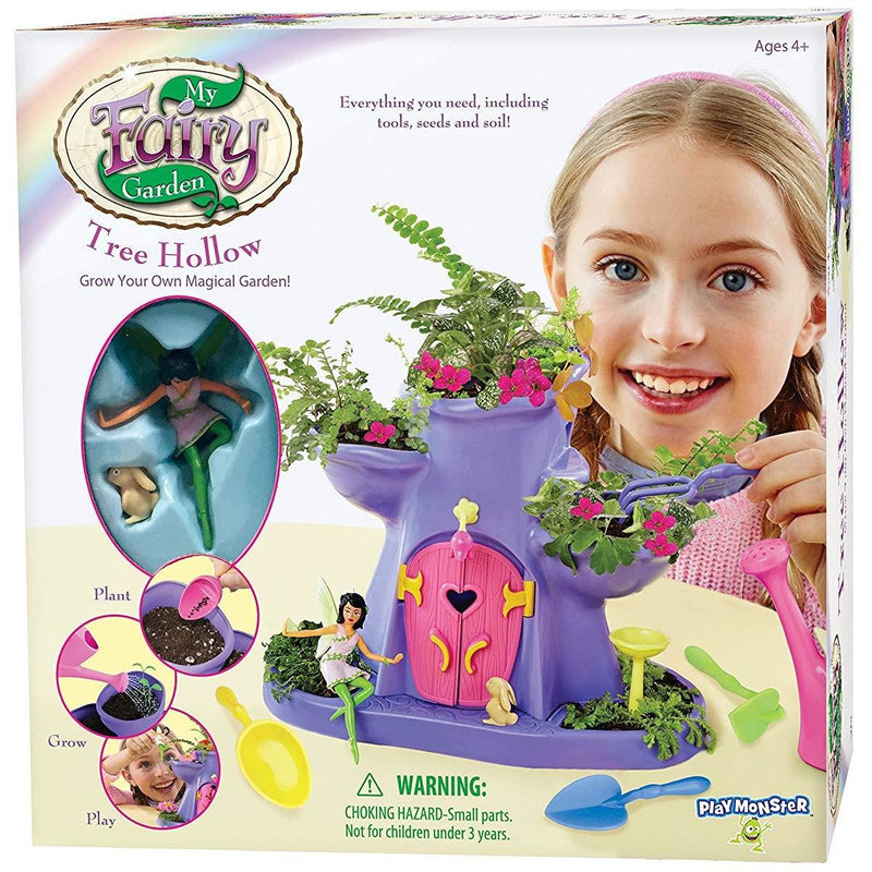 Fun With Nature - My Fairy Garden Tree Hollow