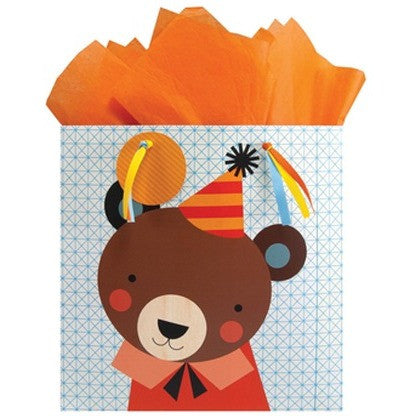 The Gift Wrap Company Animal Faces Large Gift Bag - Gift Bags and Wrap - Anglo Dutch Pools and Toys
