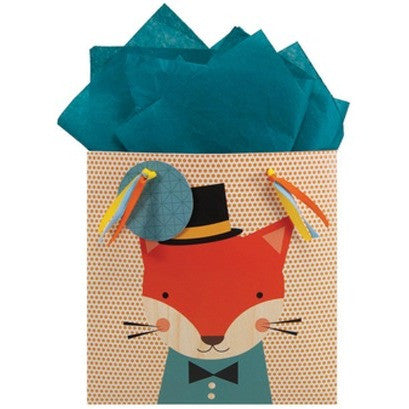 The Gift Wrap Company Animal Faces Medium Gift Bag - Gift Bags and Wrap - Anglo Dutch Pools and Toys