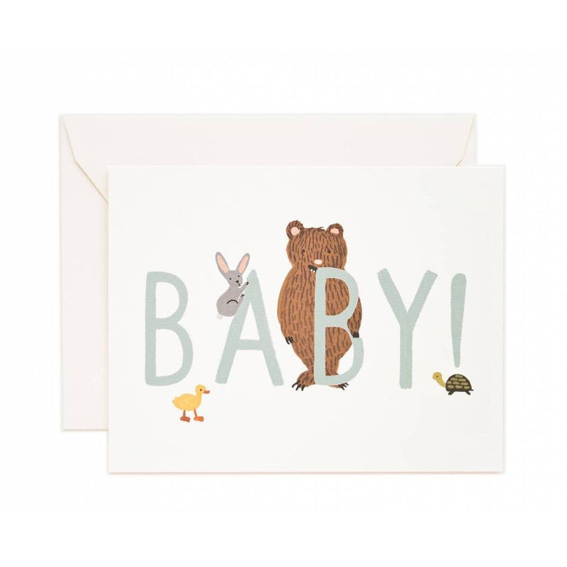 Baby Mint Greeting Card - Greeting Cards - Anglo Dutch Pools and Toys