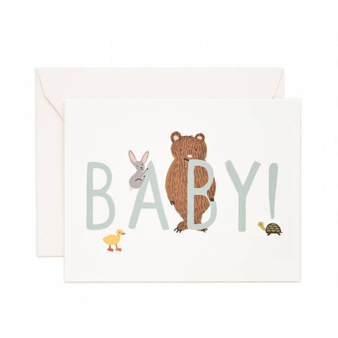 Baby Mint Greeting Card- - Anglo Dutch Pools & Toys