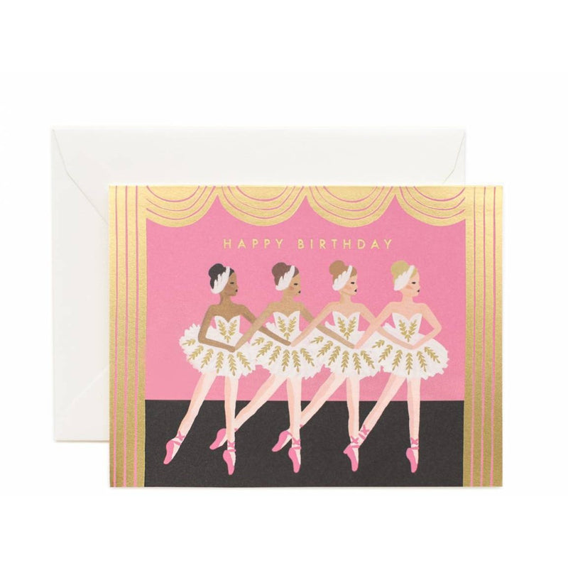 Ballet Birthday Greeting Card - Greeting Cards - Anglo Dutch Pools and Toys