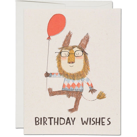 Birthday Lion Birthday Card - Greeting Cards - Anglo Dutch Pools and Toys