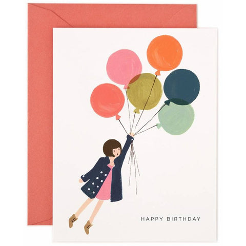 Fly Away Birthday Card- - Anglo Dutch Pools & Toys