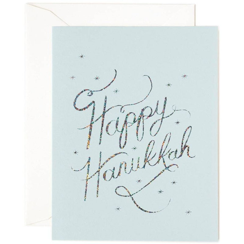 Happy Hanukkah Greeting Card- - Anglo Dutch Pools & Toys  - 1