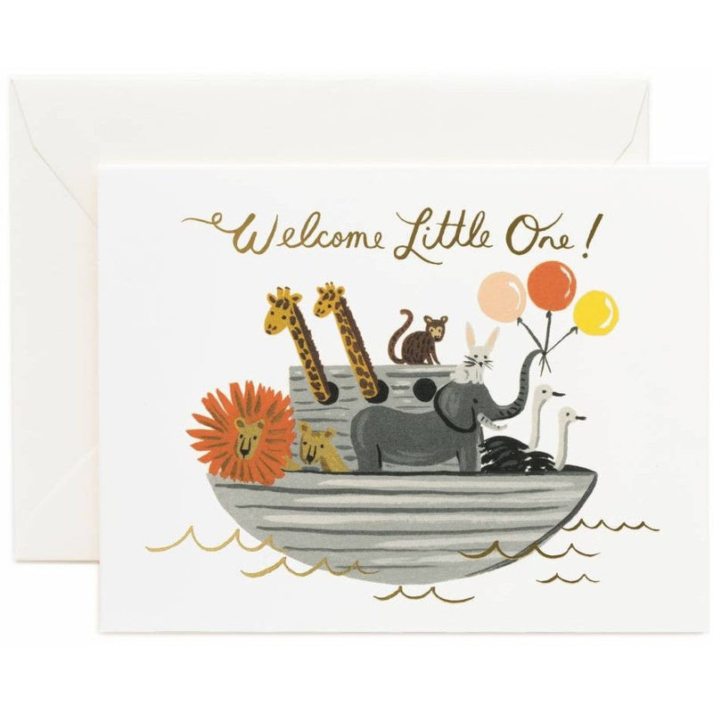 Noah's Ark Greeting Card- - Anglo Dutch Pools & Toys  - 1
