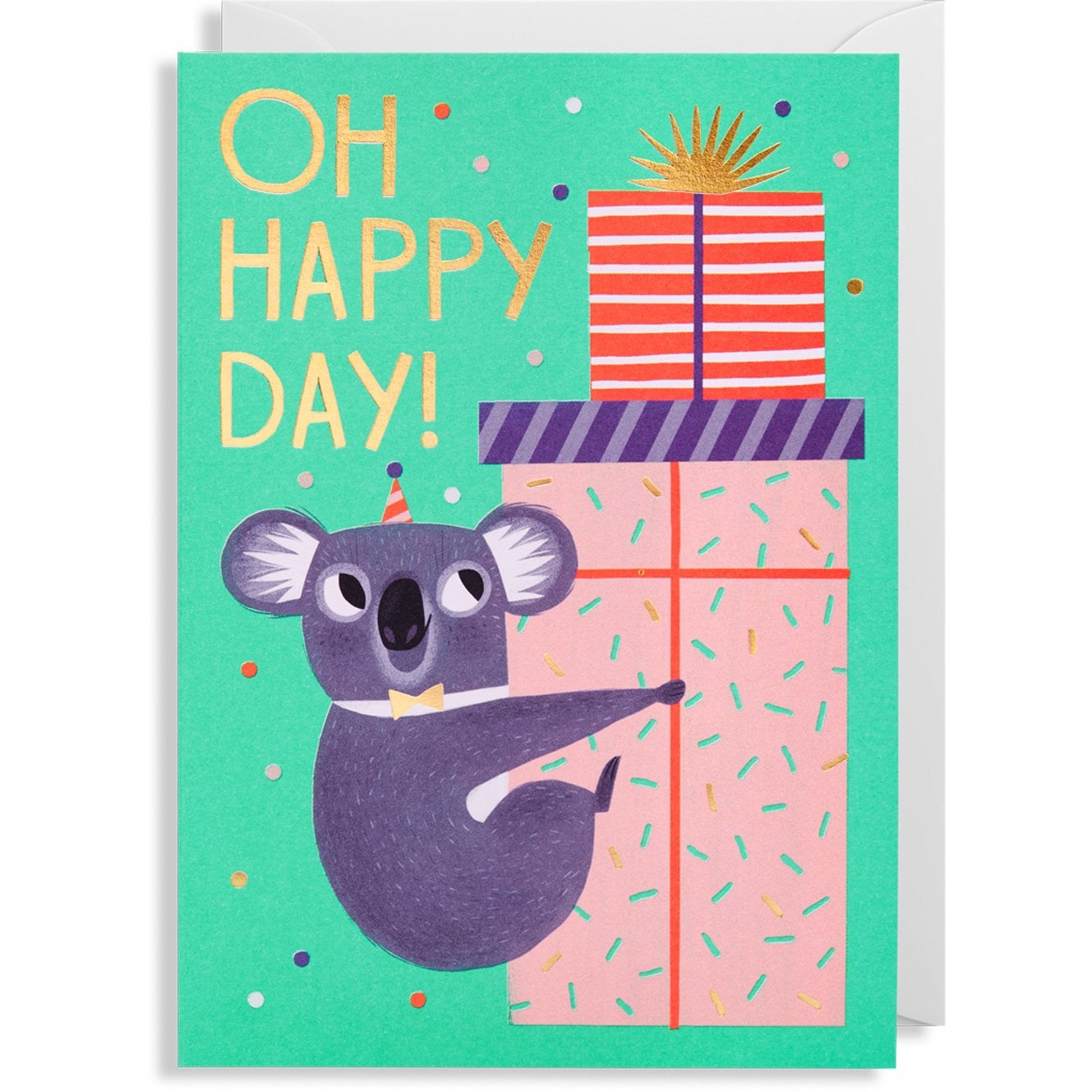 Oh Happy Day Koala Greeting Card Greeting Cards
