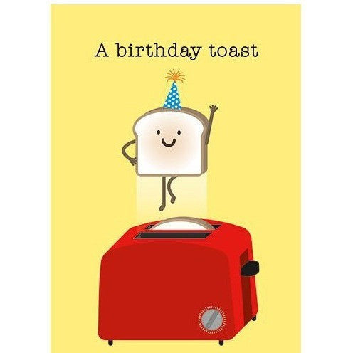 Greeting Cards - SIMPLE TOAST Birthday Card