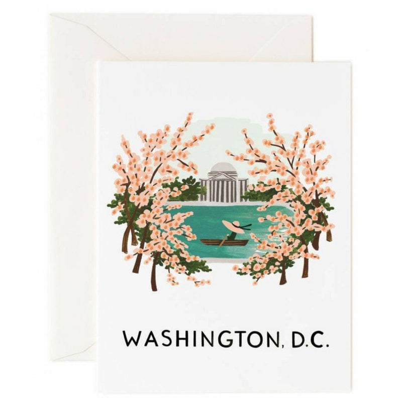Washington D.C. Greeting Card- - Anglo Dutch Pools & Toys