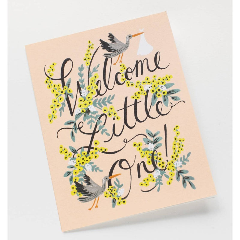 Welcome little one greeting card greeting cards welcome little one greeting card greeting cards anglo dutch pools and toys m4hsunfo