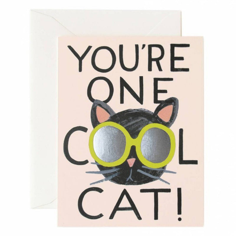 You're One Cool Cat Greeting Card - Greeting Cards - Anglo Dutch Pools and Toys