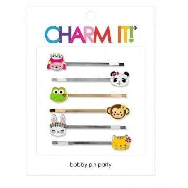 Charm It! Animals Bobby Pin Party Set