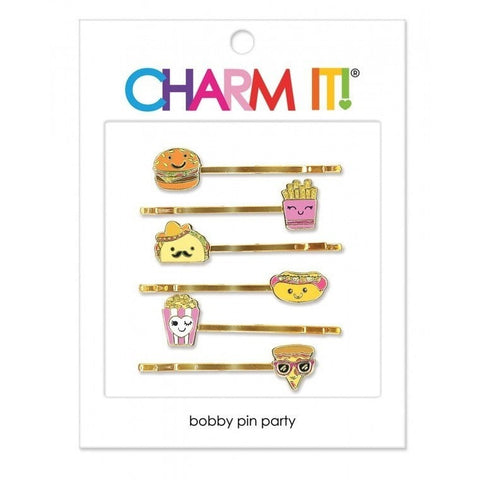 Hair Accessories - Charm It! Food Bobby Pin Party Set