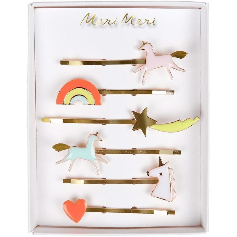 Hair Accessories - Meri Meri Unicorn Enamel Hair Pins